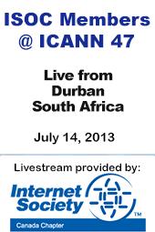 ISOC Members @ ICANN 47