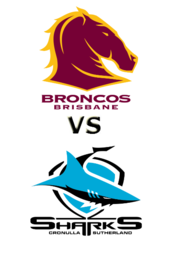 Broncos vs. Sharks