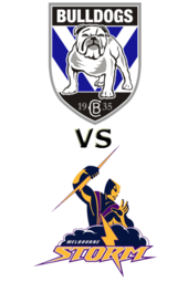 Bulldogs vs.Storm