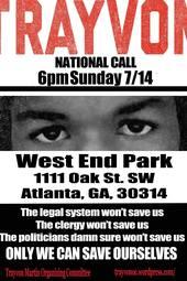 Justice for Trayvon Martin (ATL)