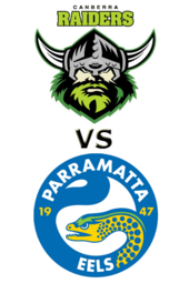 Raiders vs. Eels