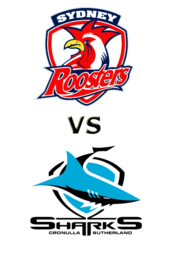 Roosters vs. Sharks