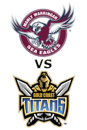 Sea Eagles vs. Titans