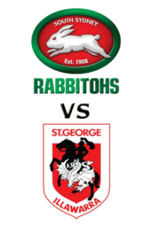 Rabbitohs vs. Dragons