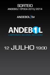 Sorteio - ANDEBOL1 (17:00)