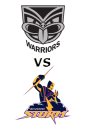 Warriors vs. Storm