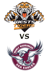 Tigers vs. Sea Eagles