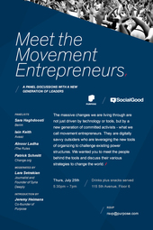 Meet the Movement Entrepreneurs + Social Good