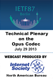 IETF 87: Technical Plenary