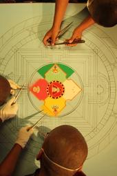 Kurukulla-Sand Mandala