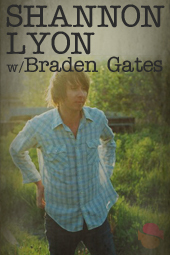 Shannon Lyon with Braden Gates live at Streaming Cafe