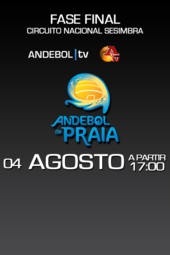 3.FASE FINAL - ANDEBOL DE PRAIA (a Bola tv)