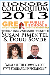 Honors Colloquium 2013 - What are the Common Core State Standards Expectations?