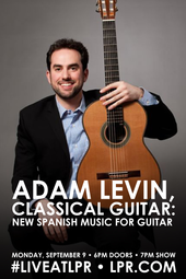 Adam Levin, classical guitar