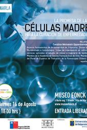 """Charla """"La promesa de las células madre para la curación de enfermedades"""""""
