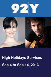 High Holidays Services at 92Y