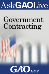 Web Chat on Government Contracting