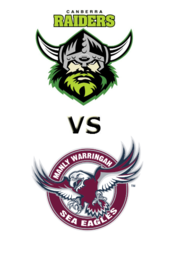 Raiders vs. Sea Eagles