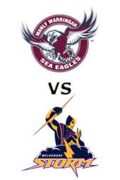 Sea Eagles vs. Storm