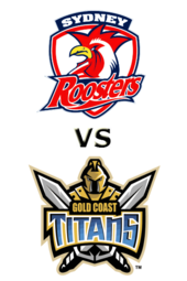 Roosters vs. Titans