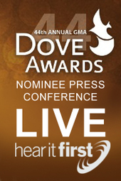 Dove Nominee Press Conference