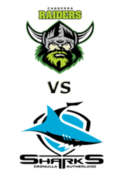 Raiders vs. Sharks