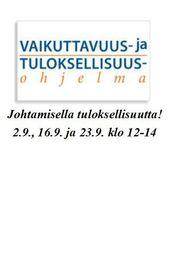 VATU - Johtamisella tuloksellisuutta!