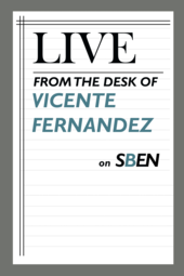 Live From the Desk of Vicente Fernandez