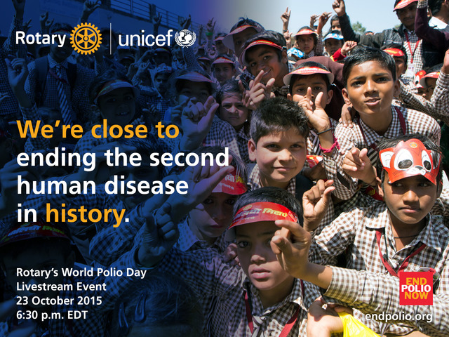 How close are we to a polio-free world? What's needed to finish the job? Can we make history together?