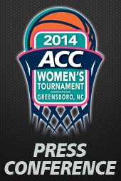 ACC Tournament Press Conferences