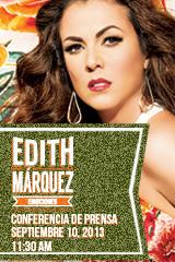 Edith Márquez - Conferencia de Prensa