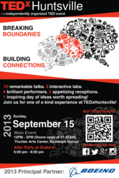 TEDxHuntsville 2013