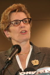 Live at 3:30 p.m. with Premier Kathleen Wynne