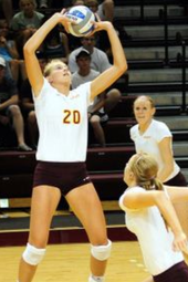 Volleyball vs St. Mary's -- Oct 23
