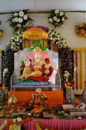 Ganesha Puja and Birthday Celebration