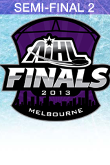2013 AIHL Goodall Cup Semi-Final 2