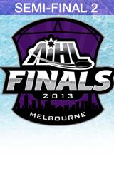2013 AIHL Goodall Cup Semi-Final 2