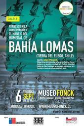 """Charla """"Avances en la conservación y el manejo del humedal de Bahía Lomas"""""""