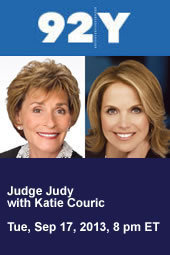 Judge Judy with Katie Couric