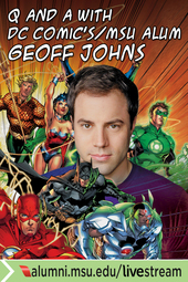 Q and A with DC Comics Geoff Johns
