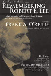Remembering Robert E. Lee with Frank A. O'Reilly
