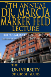 7th Annual Marker Feld Lecture for Social Justice and the City