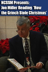 Jon Miller Reading How the Grinch Stole Christmas 2013