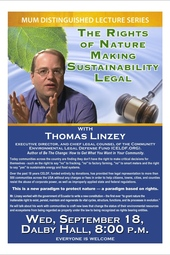 The Rights of Nature: Making Sustainability Legal