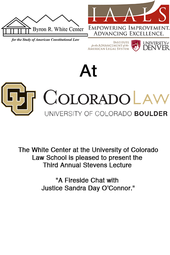Live from CU Boulder: Sandra Day O'Connor
