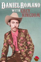 Daniel Romano w/ Grey Kingdom live at Streaming Cafe