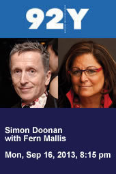 Simon Doonan with Fern Mallis