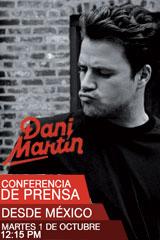 Dani Martin - Conferencia de Prensa
