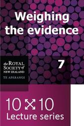 10x10: Weighing the evidence