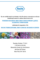 Roche Pharma Research and Early Development (pRED) Scientific Symposium